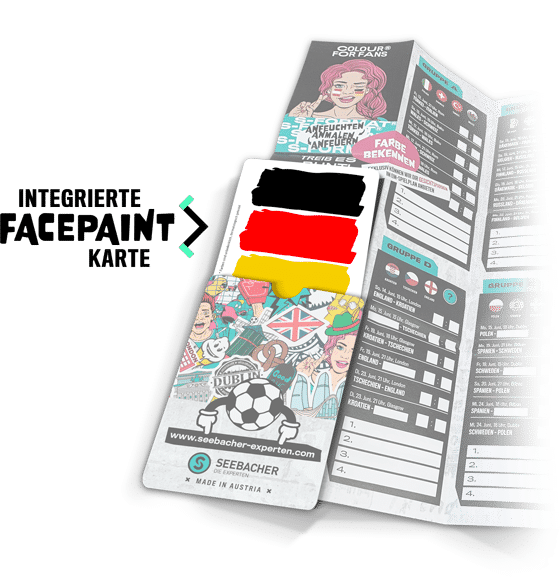 integrierte facepaint karte