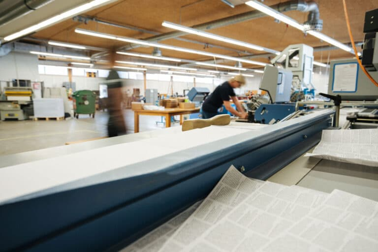 Produktion Druckerei