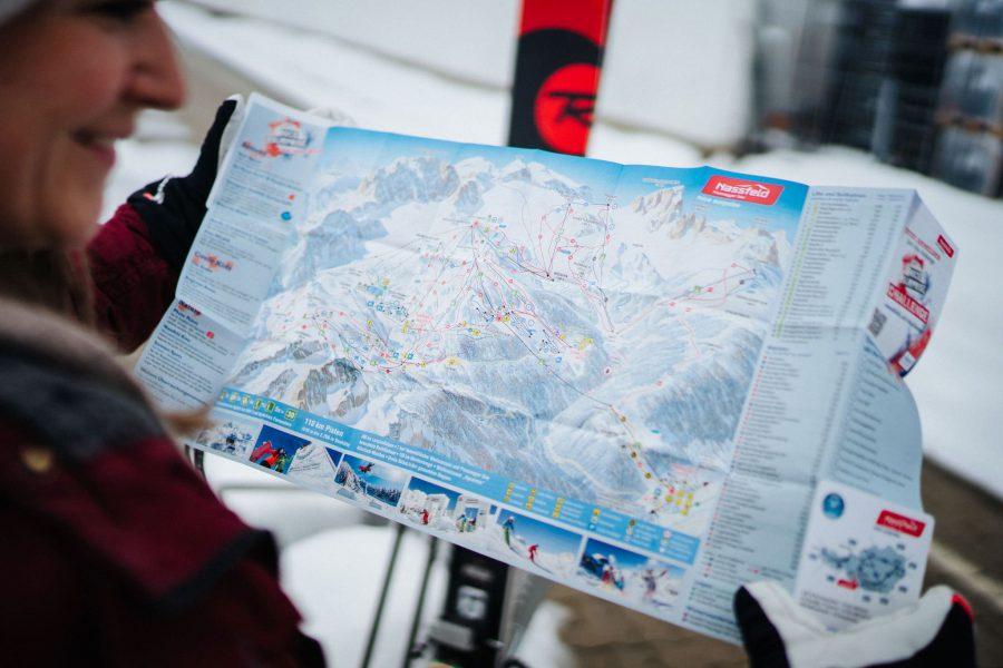 nassfeld mit ski
